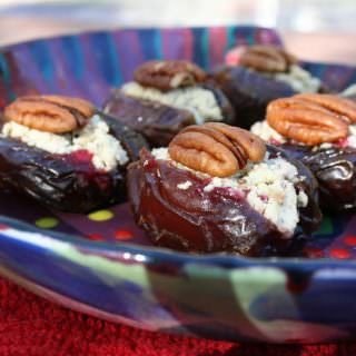 Cranberry Stuffed Dates