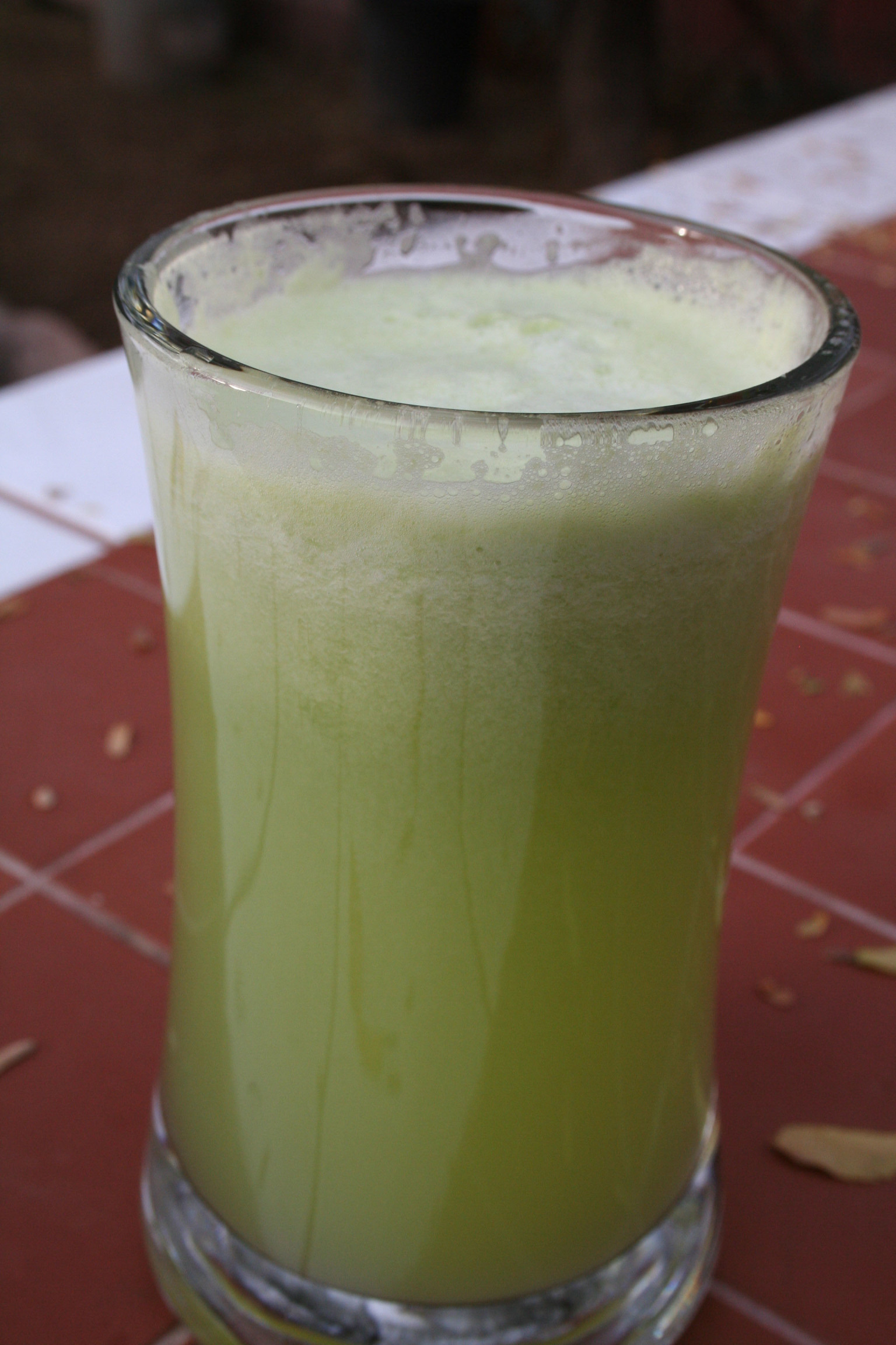 Honeydew and Cucumber Drink