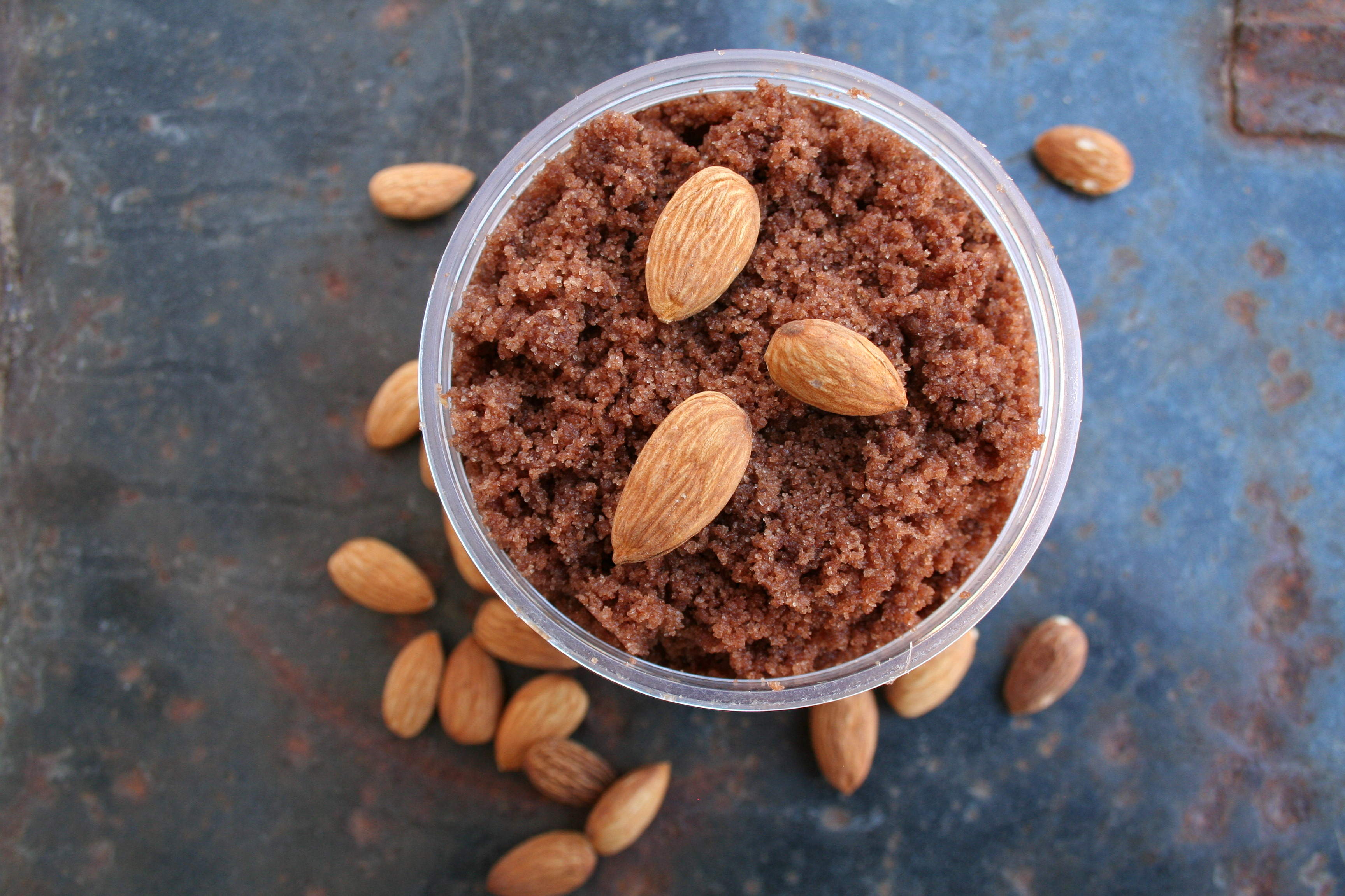 Chocolate Almond Sugar Scrub