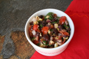 Black Bean and Grilled Corn Salsa