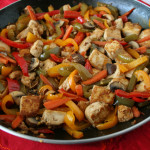 Tofu and Pepper Stir Fry for Chinese New Year