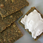 Zucchini Walnut Crackers