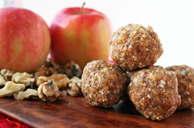 Apple Walnut Balls