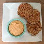 Sun-dried Tomato and Basil Hummus