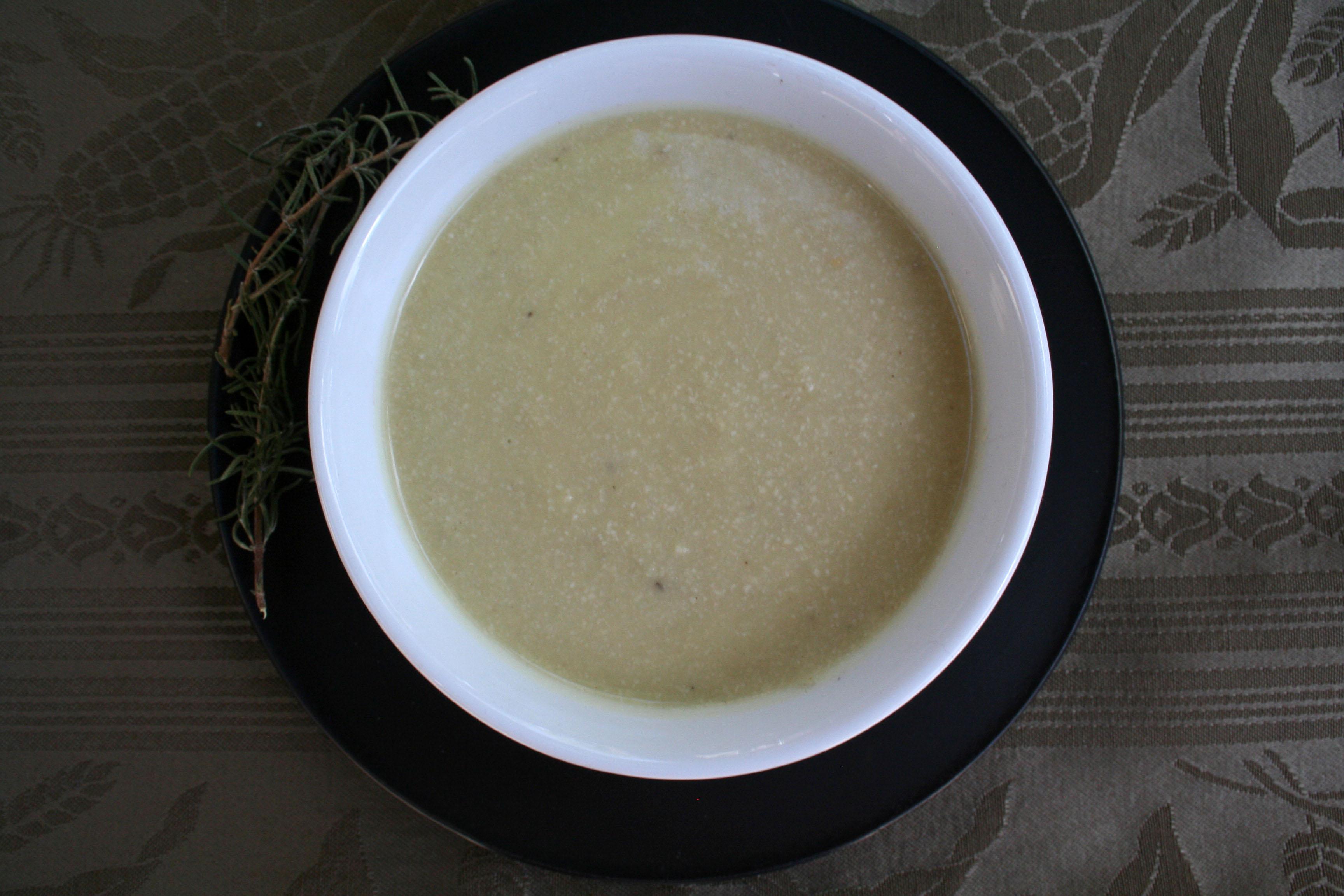 Creamy Sweet Potato Rosemary Soup