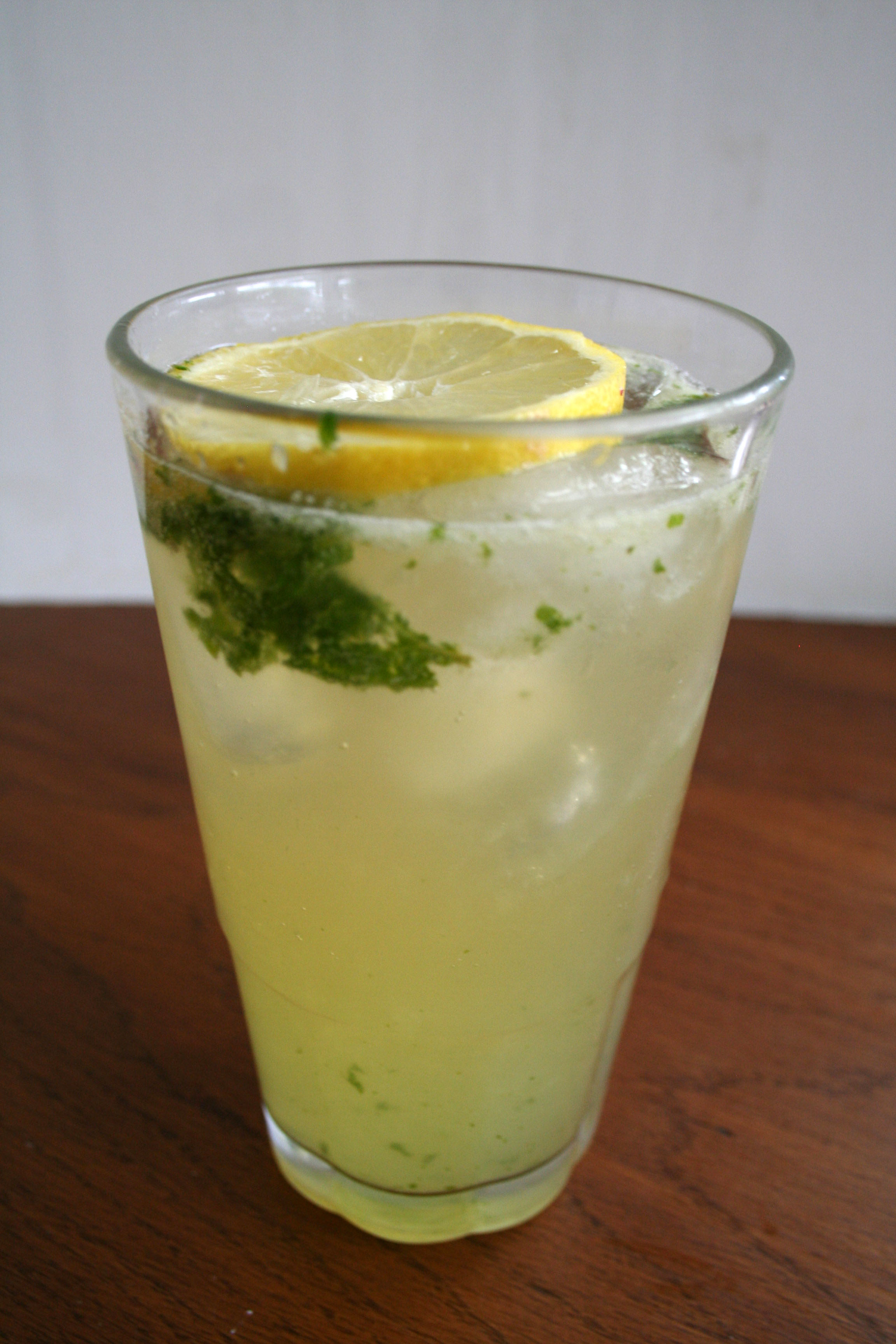 Lemon Ginger Mocktail Mojito