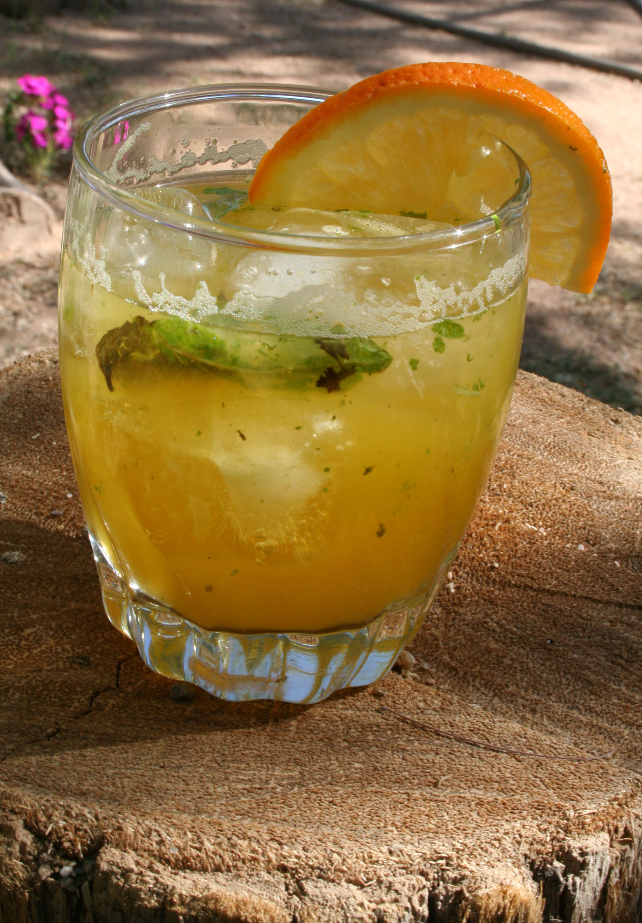Orange Mocktail Mojito