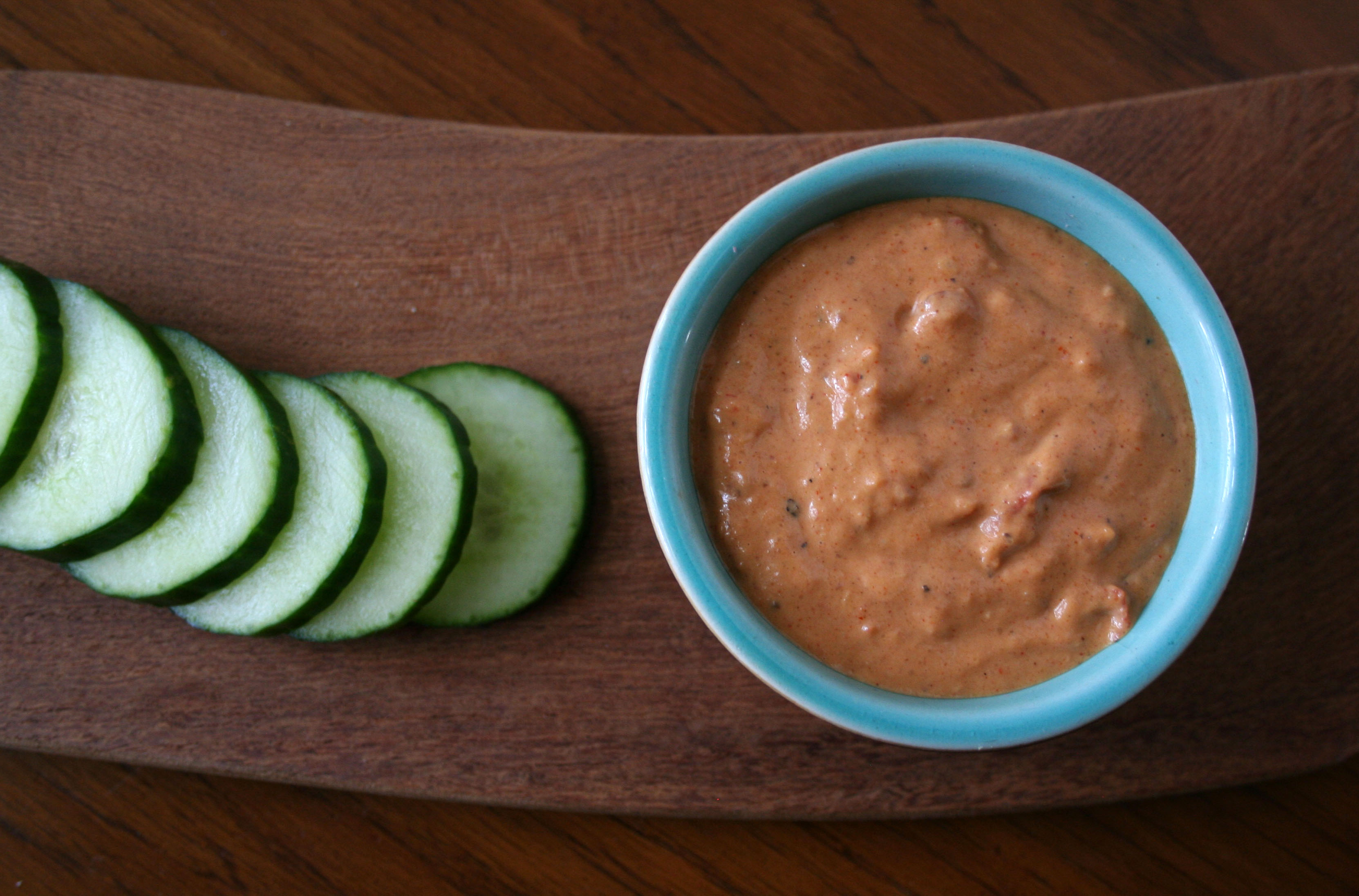 Sweet and Spicy Peanut Dip
