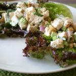 Tarragon Tofu Salad