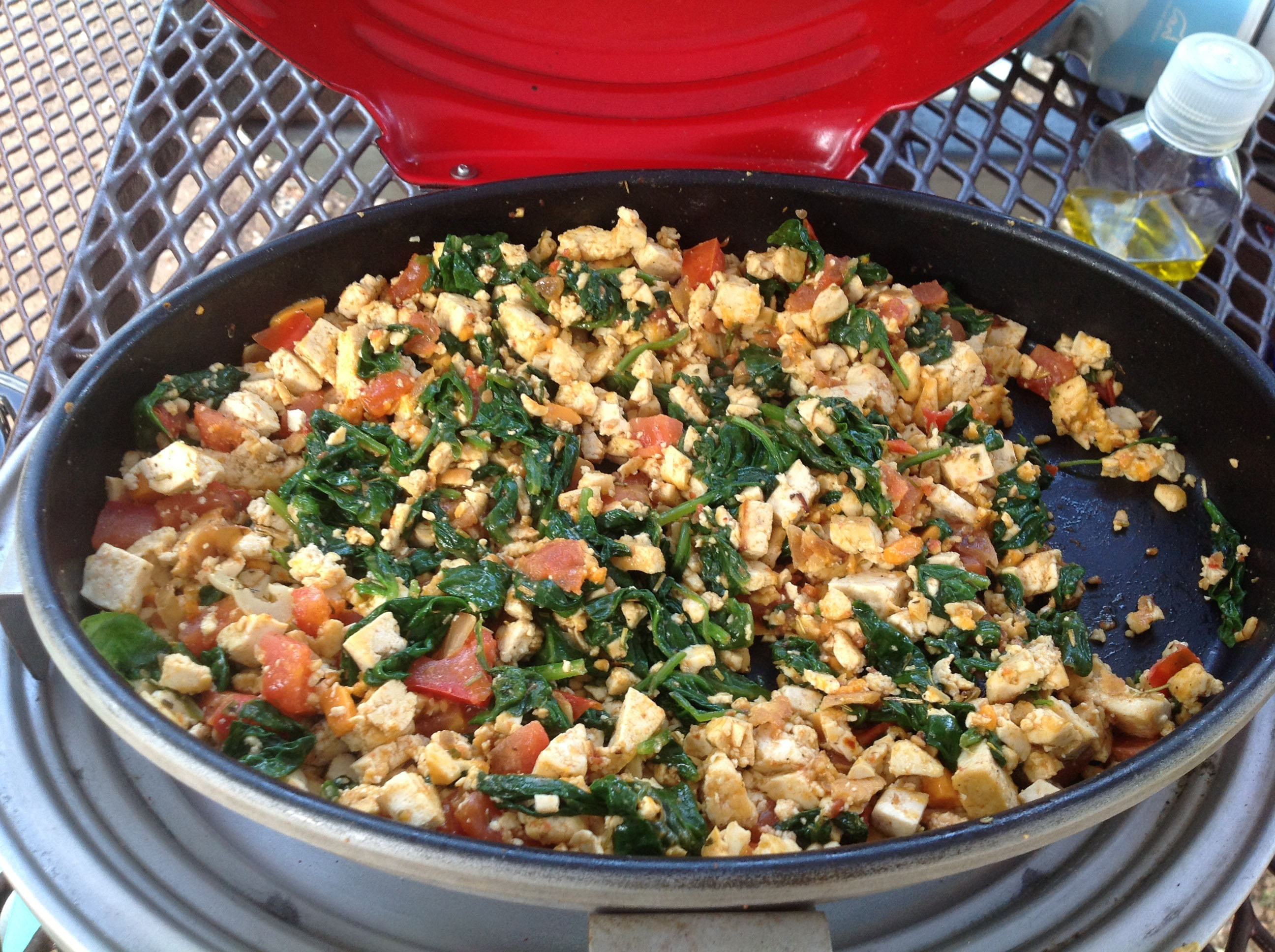Finished Tofu Scramble