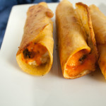 Vegan Taquitos with Green Chiles