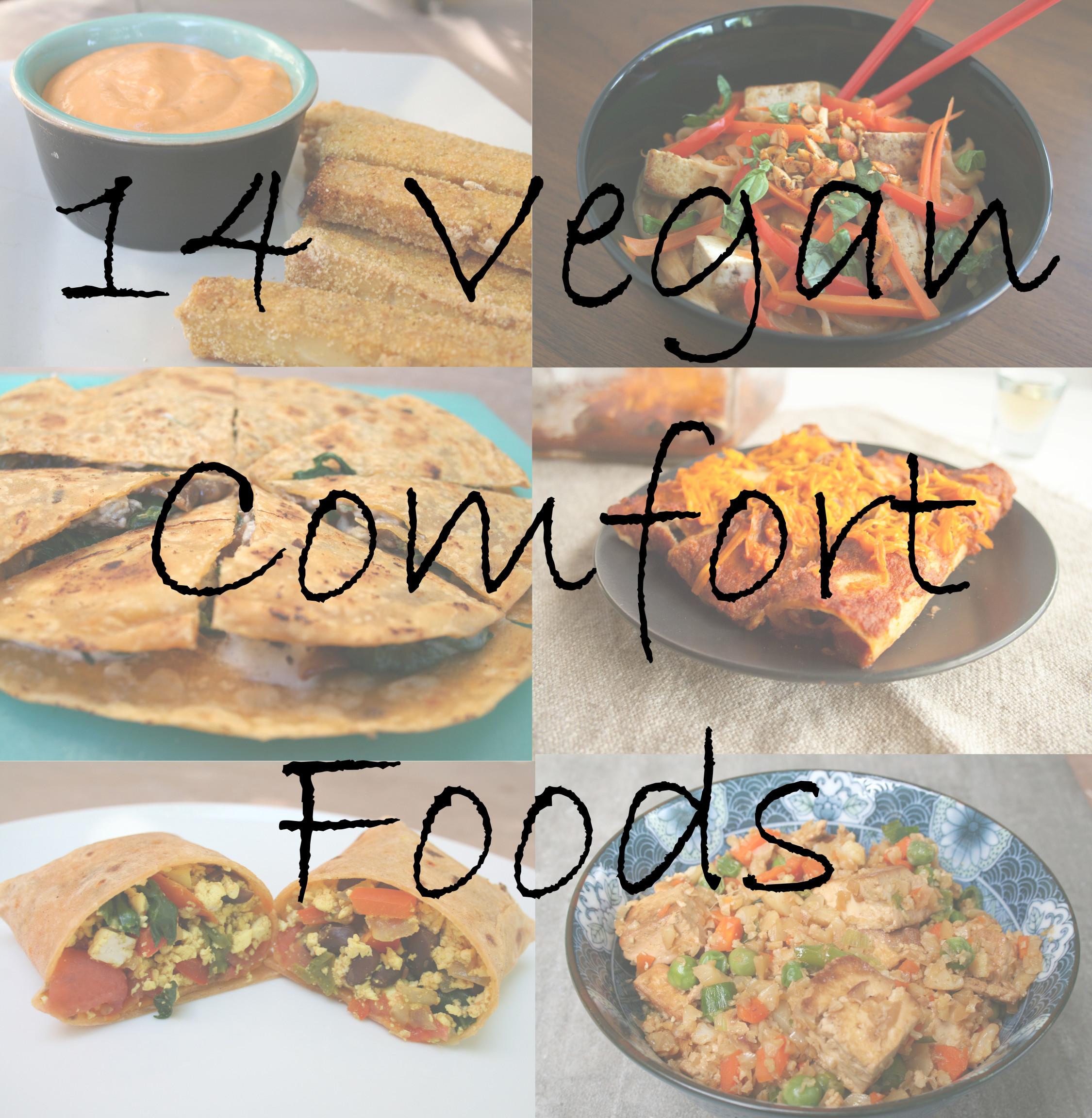 14 Vegan Comfort Foods