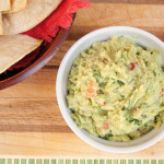 Guacamole with Baked Tortilla Chips
