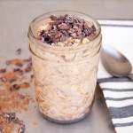 Chocolate Peanut Butter Overnight Oats