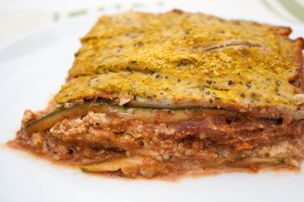 Tofu Ricotta Lasagna