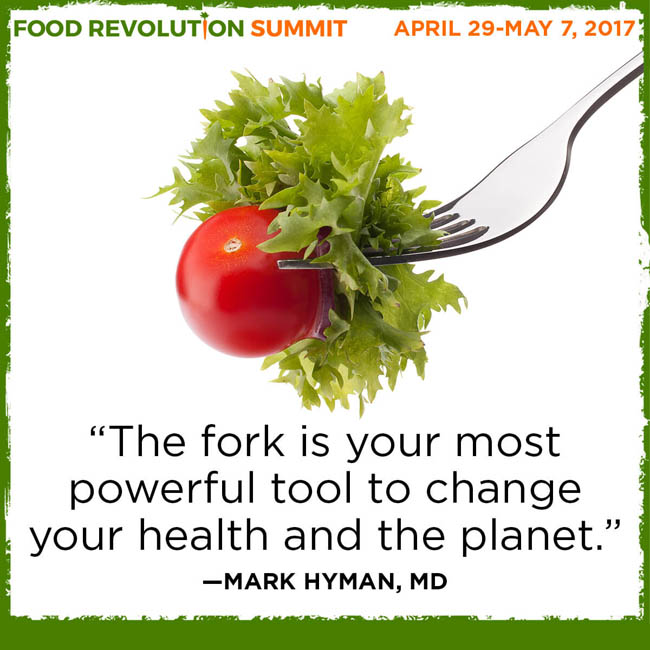 Join me for the Food Revolution Summit! What you may not know about food can ruin your health! From April 29th- May 7th, John and Ocean Robbins, are interviewing 24 of the top doctors, activists, and scientists in the food world.
