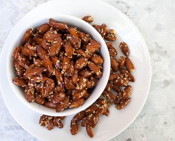 Tamari Almond Recipe birds eye view.