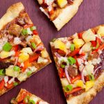 Vegan Hawaiian BBQ Pizza