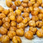 Sriracha Roasted Chickpeas