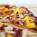 Chipotle Pizza with Pineapple and Onion