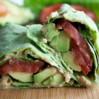 ALT (Avocado, Lettuce, and Tomato) Wrap