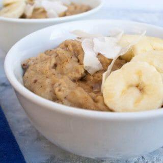 Peanut Butter Banana Porridge