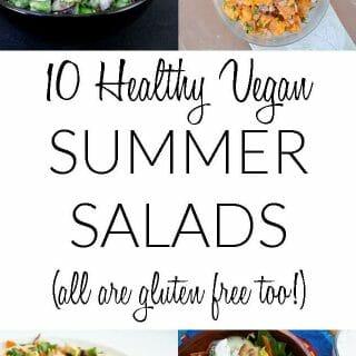 10 Healthy Vegan Summer Salads