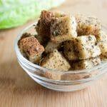 Herbed Gluten Free Croutons