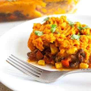 Vegan Mexican Shepherd's Pie