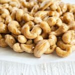 Foolproof 5 Minute Spiced Candied Cashews