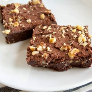 Fudgy No-Bake Brownies