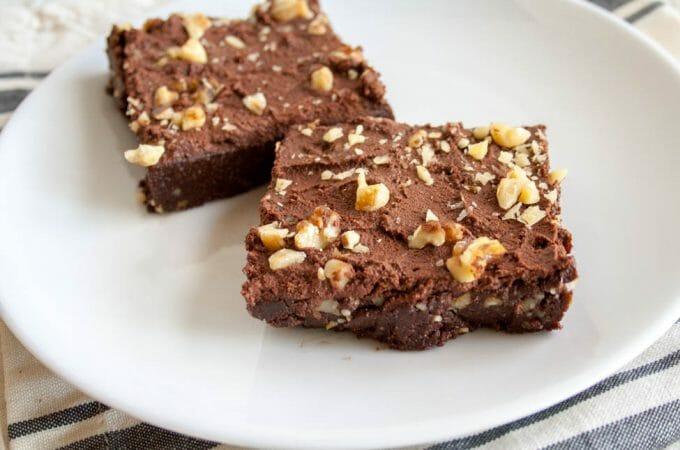 Fudgy No-Bake Brownies
