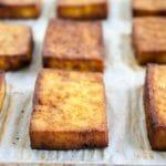 Savory Baked Tofu
