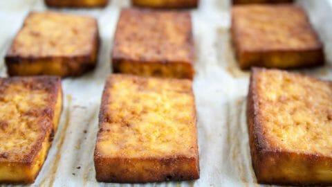 Savory Baked Tofu - Create Mindfully
