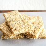 Sesame Crunch Bars