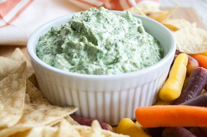Cheesy Vegan Spinach Dip