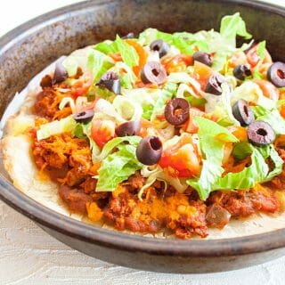 Vegan Taco Pizza