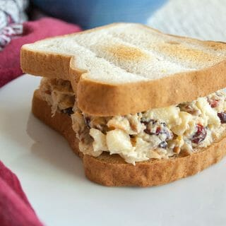 Apple Pecan Chickpea Salad Sandwich