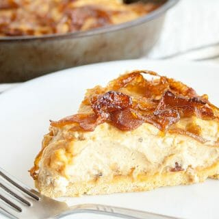 Caramelized Onion Vegan Quiche