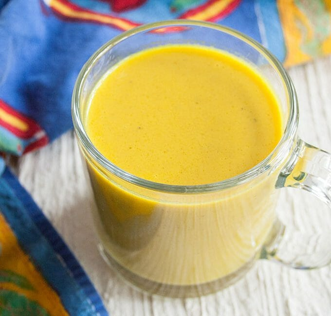 Curry Coconut Drinkable Soup
