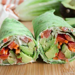 Vegan Veggie Wrap