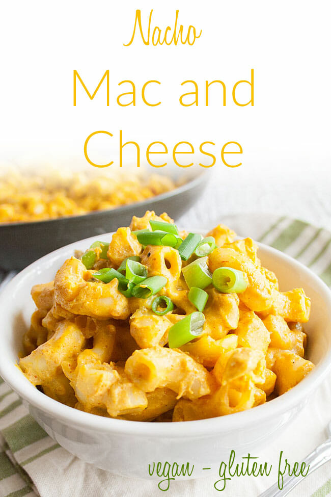 Nacho Mac and Cheese photo with text.