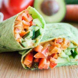 Thai Veggie Wrap