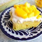 2 Ingredient Mango Cake
