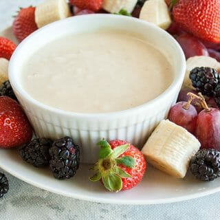 Vegan Fruit Dip