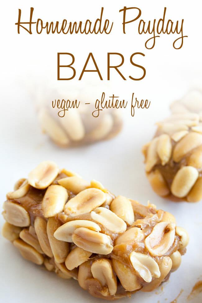 Peanut Bars photo with text.