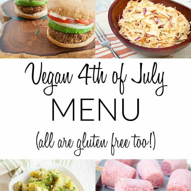Vegan 4th of July Menu