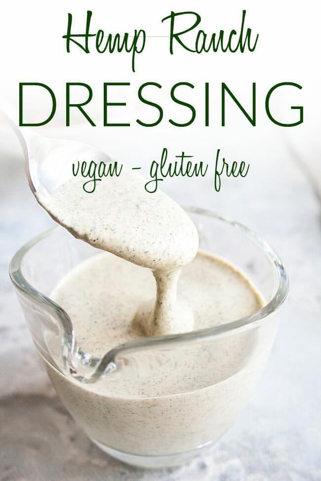 Oil Free Ranch Dressing photo with text.