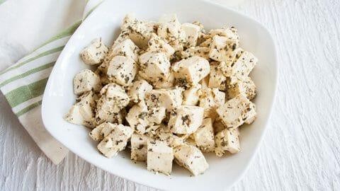 Tofu Feta -