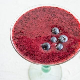 Frozen Blueberry Daiquiri